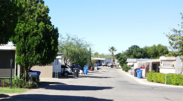 Campbell Estates Mobile Home Park homepage feature (image)